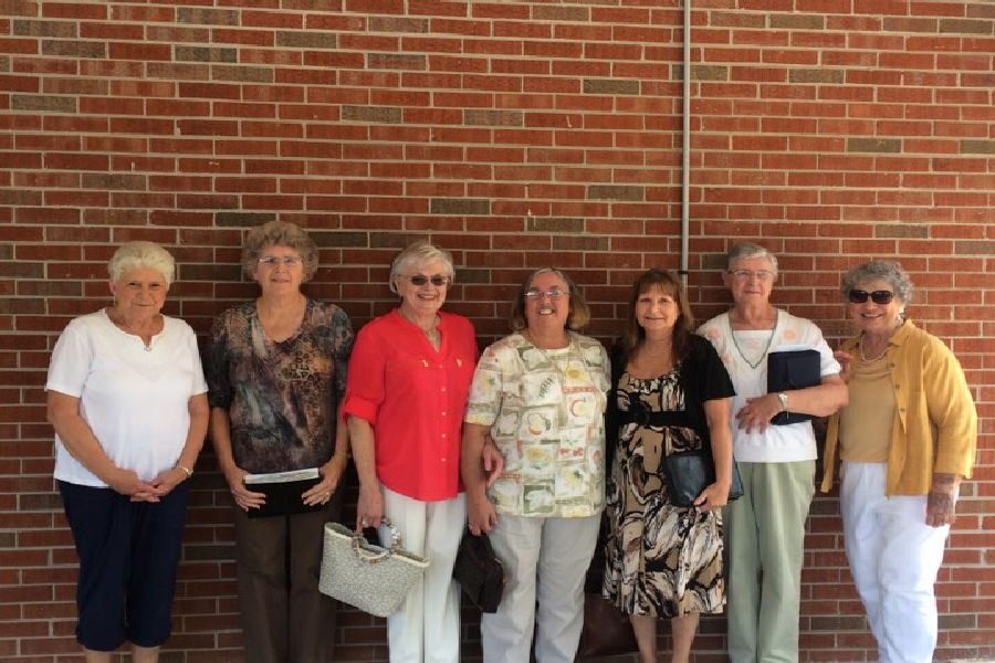 The Angels of Booth Chapel...  Kay Hughes, Virginia Keeton, Linda Gibson, Connie Fry, Teresa Crabtree, Shirley McClure, and Donna Cox